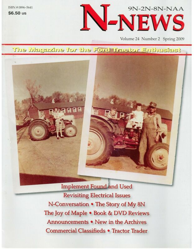 Ford N-News Magazine tractors, Electrical Issues and terminology, Maple Syrup