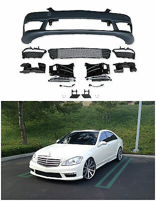 MERCEDES BENZ S63 AMG FACELIFT FRONT BUMPER FOR 2007-2012 W221 S CLASS WITH PDC