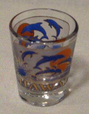 Hawaii Dolphin theme Shot Glass