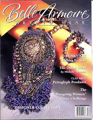 Vintage Belle Armoire: Art to Wear. Clay Pendants, Larkin J.Van Horn Autumn 2004