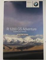 Bmw R1200 Gs Adventure Opusocolo Depliant Prospekt Pubblicita -  - ebay.it