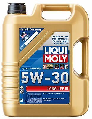 LIQUI MOLY LONGLIFE 3 III 5W-30 5-LITER MOTOR-ÖL 20647