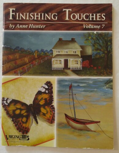 Viking Decorative Painting Pattern Book FINISHING TOUCHES Vol 7 by Anne Hunter