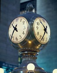 8 x 10 Photo Concourse Clock at Grand Central Station