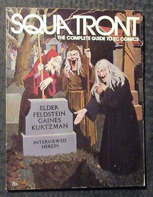1983 SQUA TRONT Fanzine #9 FN 6.0 EC Comics Guide / Johnny Craig / Wally Wood