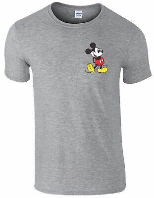 Mickey Mouse Retro KickDisney Birthday Christmas xmas Mens Ladies T Shirt Top