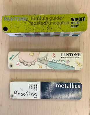 Pantone Color Guide - Coated Uncoated Metallics Pastels