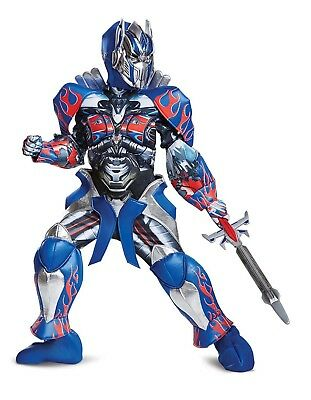 Transformers Optimus Prime -The Last Night Movie Costume Fancy Dress -UK Seller