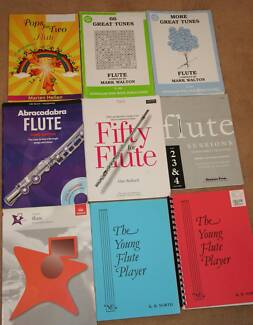Flute books (Beginner to Intermediary) Duncraig Joondalup Area Preview