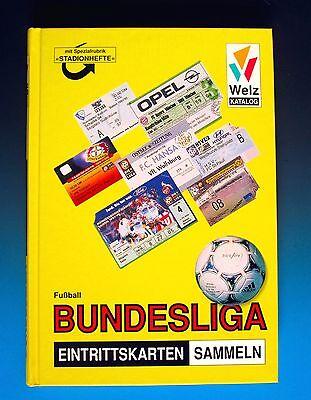 Welz Katalog für Fussball Ticket Programm Plakat Trikot Bayer Leverkusen Hertha