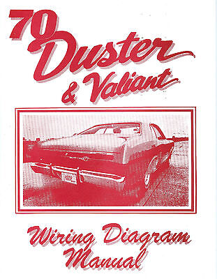 1970 70 plymouth duster/valiant wiring diagram | ebay,