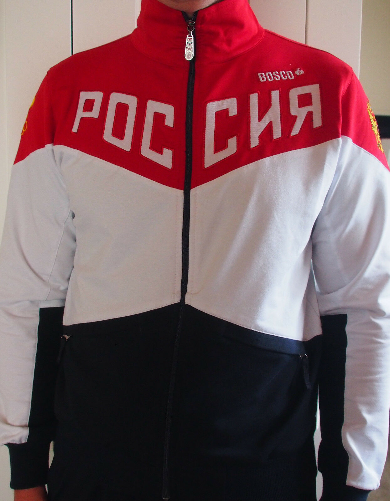 d457a6a6c3a67 RIO 2016 Brazil Bosco Sport Russia Olympic games uniform mens Lycra/Elastine  фото
