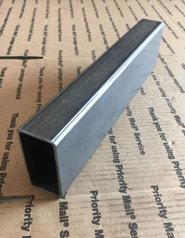 "1 1/2 X 3 Steel Rectangular Square Tubing 1/8"" Welding Bracing Support 12"" L"