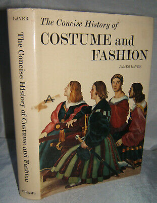 Concise History of Costume and Fashion James Laver circa 1968 Clothing - History Of Costumes
