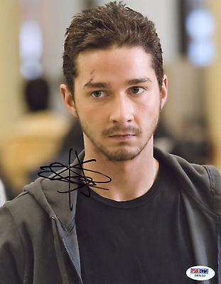 Shia Labeouf Signed 8X10 Psa Dna Coa Photo Auto Autograph Autographed Psa Labouf
