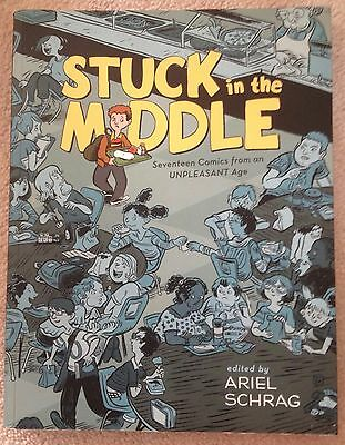 Stuck in the Middle: 17 Comics from an Unpleasant Age Edit. Ariel Schrag PB 2007, used for sale  Allentown