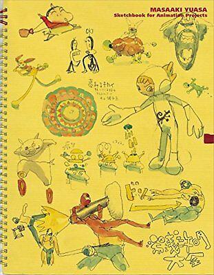 Masaaki Yuasa Sketchbook for Animation Projects Japan Anime Manga Art Book F/S