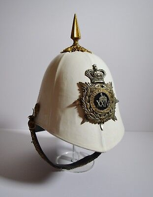 Foreign Service Helmet Pith Helmet Officers 24th Foot Regt