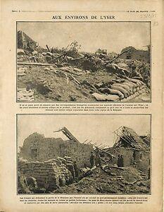 """Bataille de l'Yser Maison de l'Yser Belgique Belgium Poilus War 1915 WWI - France - Commentaires du vendeur : """"OCCASION"""" - France"""