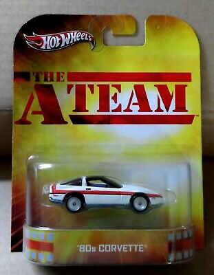 "Hot Wheels ""Retro Entertainment"" The A Team - '80s Corvette"