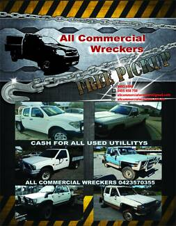 Cash for Cars, Vans, Utes & 4WDs - All Commercial Wreckers Maddington Gosnells Area Preview
