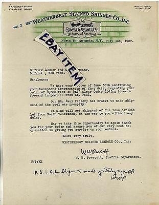 1927 Weatherbest Shingle North Tonawanda Newyork Hofheins Prescott Peters Guerin