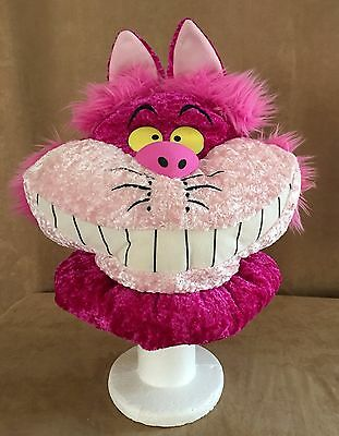 Cheshire Cat Plush Theme park Walt Disney World hat costume Alice in Wonderland