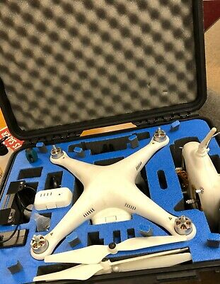 DJI Phantom 1 Drone w Zenmuse Gimbal and Accessories/Elvid Skyvision WCM-758G