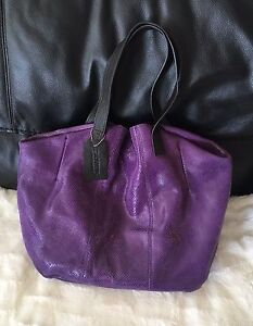 Danier Leather large genuine leather bag