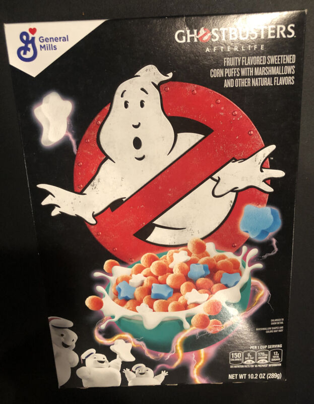 Ghostbusters Afterlife Cereal 2021 New In Box