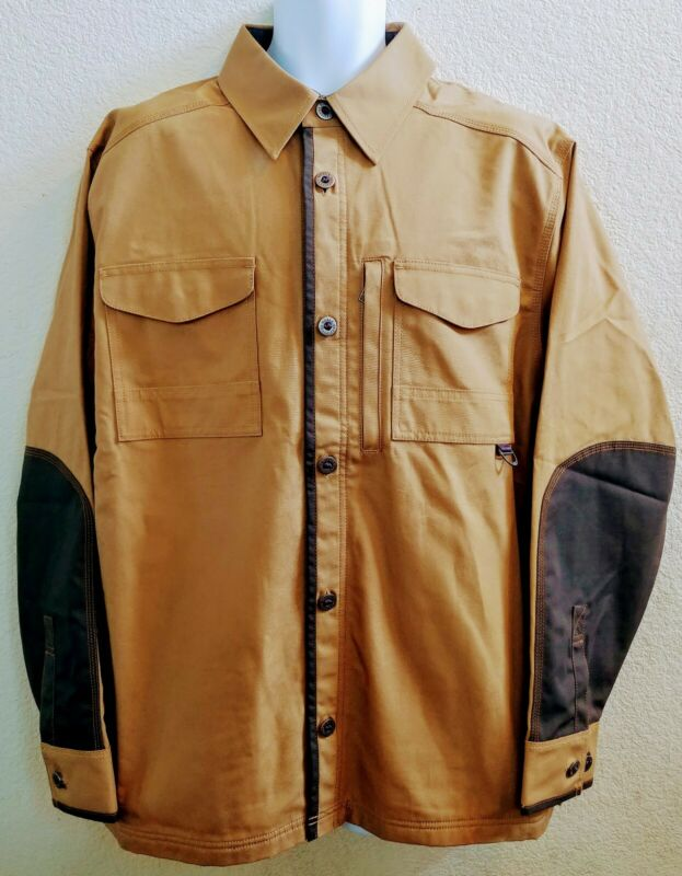 NOBLE OUTFITTERS Tough Canvas Mens sz L Insulated Work Ranch Coat Jacket