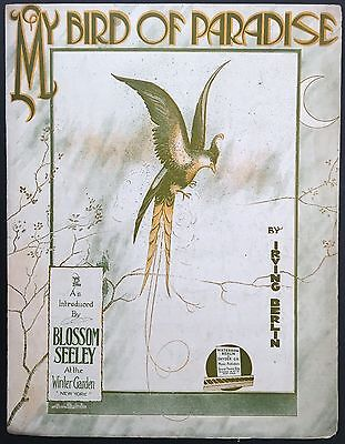 Bird Of Paradise Cover - 1915