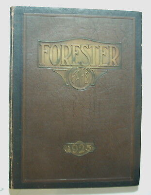 School Yearbook   Forest Avenue High School 1925  Forester  Dallas Texas Madison