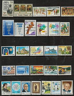 Finland: 165 all different MNH stamps