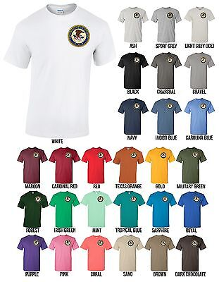 Us Department Of Justice Seal T Shirt United States Doj Tee   New