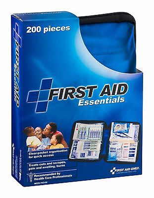 Ultra Light 200 Pieces Emergency First Aid Essential Kit & Soft Case FAO-432