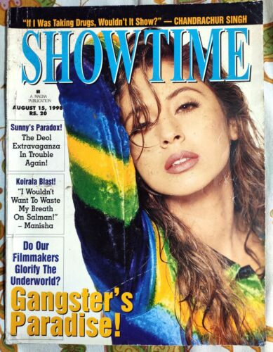 Rare Bollywood Film Movie Magazine SHOWTIME Aug 15 1998 English India