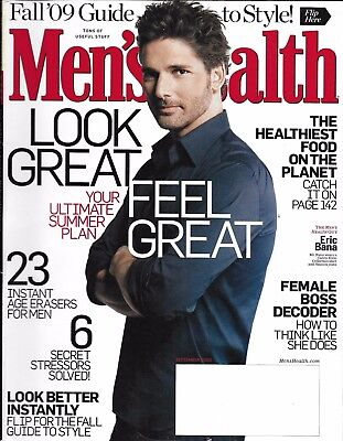 Men's Health Magazine Eric Bana Ultimate Summer Plan Fall Style Guide Best