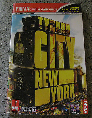 Tycoon City New York (Prima Official Game Strategy Guide) PC