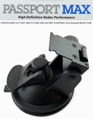 NICE POWER GRIP SUCTION MOUNT FOR ESCORT PASSPORT MAX, MAX2, 360 RADAR DETECTOR
