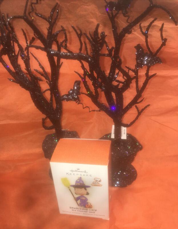 Hallmark Keepsake Ornament  Bewitching Lucy- The Peanuts Gang 2009 Halloween