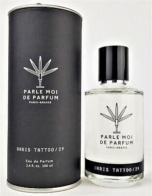 Parle Moi De Parfum Orris Tattoo 29 Eau de Parfum 100ml New in Box Fast Ship!!