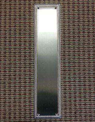 ASSA ABLOY - Rockwood Satin Chrome Push Plates, Door Hardware, Historic, New