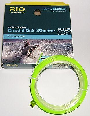 RIO Coastal QuickShooter WF-8i - Meerforellen-Schnur - 10,5-m-Keule -  Neu