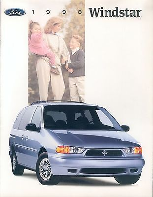 Ford Windstar Prospekt USA 1/97 1998 brochure Auto PKWs Autoprospekt Broschüre