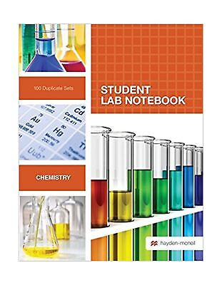 Student Lab Notebook: 100 Top Bound Carbonless Duplicate Sets - Student Lab Notebook