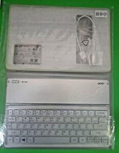 NEW Acer Iconia W700 Dock Case w/US Keyboard Bluetooth NK.BTH13.00U