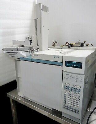 Hp Agilent 6890 Plus Gc Gas Chromatograph Fid Aux Valve Ssl Pp 7683 Als