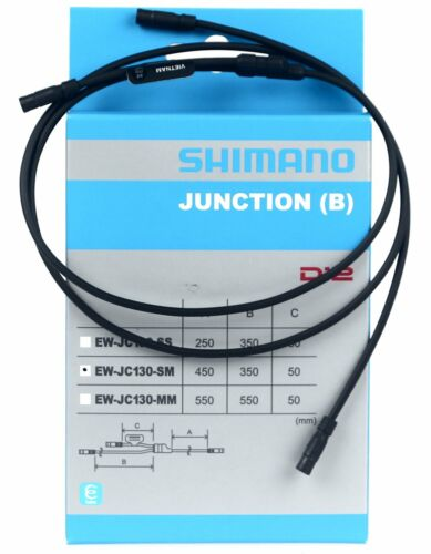 Shimano EW-JC130SM Y-Split Rooting Electric Wire 450/350/50mm for Di2 NIB