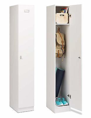 "72"" Elite Single Tier Storage Locker Cabinet Broom Closet - NEW"